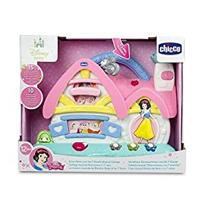 Chicco Disney Princess Snow White and 7 Dwarfs Interactive Musical Cottage