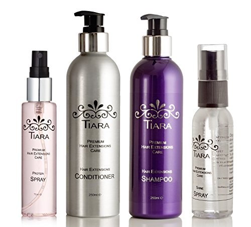 tiara-extension-care-combo-iii-shampoo-conditioner-protein-spray-shine-spray