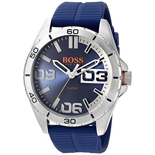 hugo-boss-mens-48mm-blue-rubber-band-steel-case-quartz-analog-watch-1513286