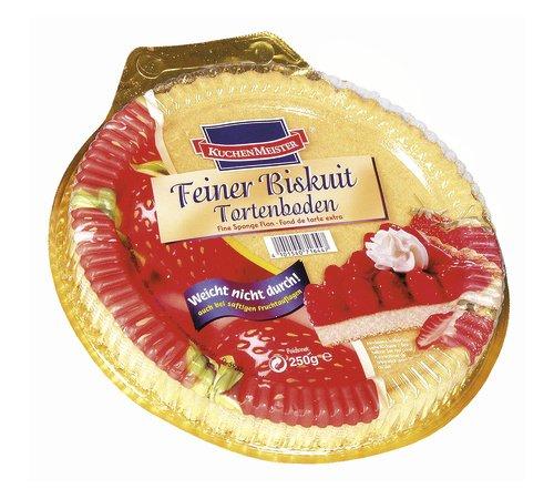 Kuchenmeister Feiner Bisquit Tortenboden, 6er Pack (6 x 250 g)