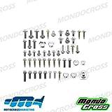 MONDOCROSS Kit completo viti fissaggio plastiche HUSQVARNA 125 TC 14-15 125 TE 14-16 250 FC 14-15 250 FE 14-16 250 TC 14-16 250 TE 14-16 300 TE 14-16 350 FC 14-15 350 FE 14-16 450 FC 14-15 450 FE 14-16 501 FE 14-16 KTM 125 EXC 12-16 125 SX 11-15 150 SX 11-15 200 EXC 12-16 250 EXC 12-16 250 EXC F 12-16 250 SX 11-16 250 SX F 11-15 300 EXC 12-16 350 EXC F 12-16 350 SX F 11-15 450 EXC 12-16 450 SX F 11-15 500 EXC 12-16