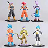 THTB Dragonball Z 6er Figuren Set ca. 14 cm Set 1