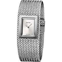 881515bb1037 Calvin Klein Reloj Analógico para Mujer de Cuarzo con Correa en Acero  Inoxidable K5L13136