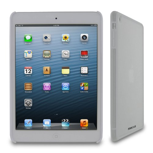 rooCASE Fuse (Frost/White) Snap-On Shell Case for Apple for Apple iPad Mini 7.9-Inch Tablet