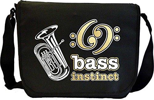 Tuba BASS Instinct - Sheet Music Document Bag Musik Notentasche MusicaliTee