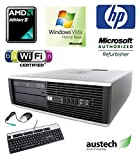 HP 6005 Pro SFF PC - AMD II X2 2.8GHz Processor, 2GB RAM, 250GB Hard Drive, DVDRW, Wireless, Windows Vista