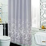 Duschvorhänge,Bad vorhang Bad trennwand vorhang Wasserdicht Anti schimmel Verdicken sie-K 240x180cm(94x71inch)