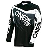 O'Neal Element Racewear Motocross Kinder Jersey Trikot MX Enduro Offroad Motorrad Quad Cross Youth, 0006, Farbe Grau, Größe L
