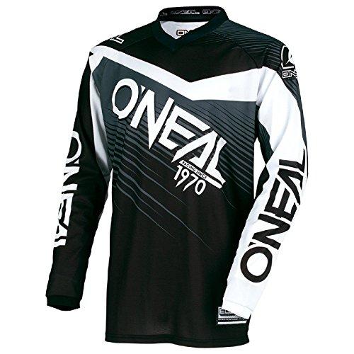 O'Neal Element Racewear Motocross Kinder Jersey Trikot MX Enduro Offroad Gelände Quad Cross Youth, 0006, Farbe Grau, Größe M