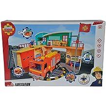Sam El Bombero - Nueva estación con figura (Simba 9258282)