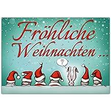 Suchergebnis auf f r lustige weihnachtskarten gru karten karten b robedarf - Weihnachtskarten amazon ...