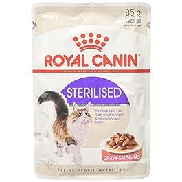 Royal Canin Sterilised – Cibo umido per gatti adulti sterilizzati, 1x 85 gr