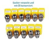11 Stücke ER16 Spannzange Set Spannbereich Von 1mm Bis 10mm für Fräsdrehbank Werkzeug oder CNC Graviermaschine