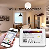 Contrôleur Sans Fil Wifi LED 2,4G à Variation pour Ampoule LED Mi-Light Série RVB RGBW iOS 5.0 iPhone iPad Android Samsung HTC Smartphone Tablette