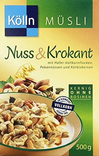 Kölln Müsli Nuss & Krokant, 500 g