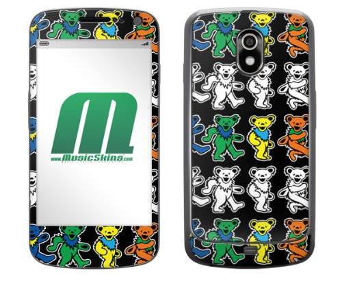 Unbekannt MusicSkins Schutzfolie (für Samsung Galaxy Nexus, Grateful Dead Dancing Bears (Grateful Dead Dancing Bear)