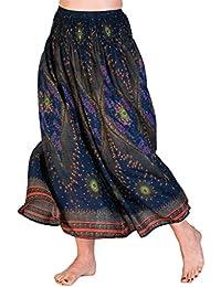 Panasiam® Summerskirt, Röcke in vielen Design und auch einfarbig, aus 100% natürl. Viskose, passt S bis L