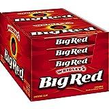 Big Red Cinnamon Chewing Gum Slim Pack x10 Packs Full Box