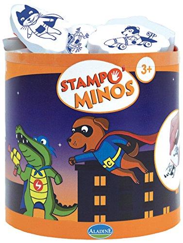 aladine-85139-stampo-minos-de-superheroes-12-sellos-cojin-de-tinta-1