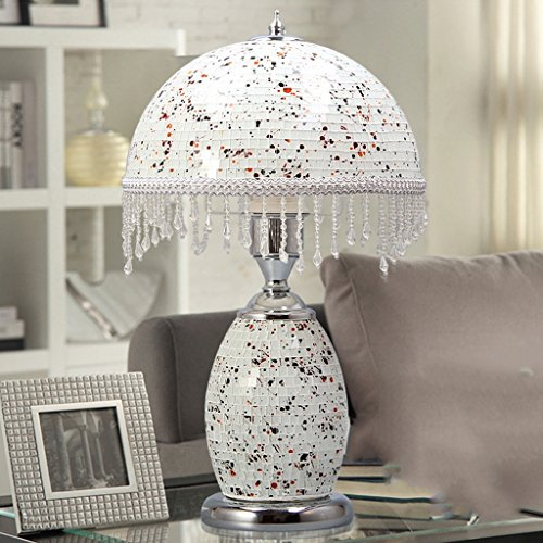ZXLDP Table lamps Living Room Mosaics Decorative Table Lamp /Creative Retro Bedroom Table Lamp Personalized table lamp ( Color : #2 )