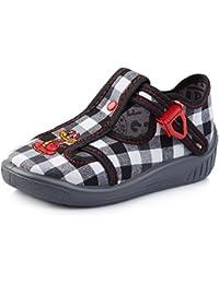 Alexis Leroy Garçon - Chaussures De Sport De Haute Enfant Toile Bleu Foncé 29 Eu / 11 Au Royaume-uni luEJq7