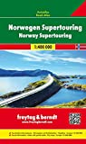Freytag Berndt Autokarten, Norwegen, Autoatlas 1:400.000: Wegenatlas 1:400 000 (freytag & berndt Autoatlanten)