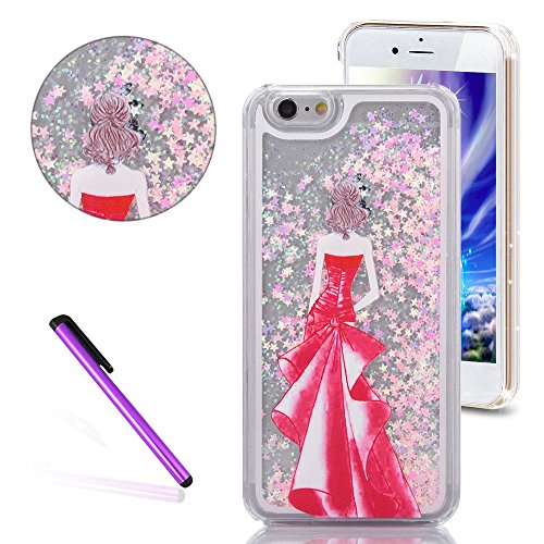iPhone SE Hülle,iPhone 5S Hülle,iPhone 5 Case,EMAXELERS Hart Plastik Clear Glitzer Sparkles...