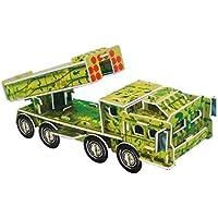 3D gruesa espuma Cartón Puzzle bricolaje Kit de artesanía/Modelo de edificio/Regalo/Kit de modelo Para niños # 51 - Peluches y Puzzles precios baratos