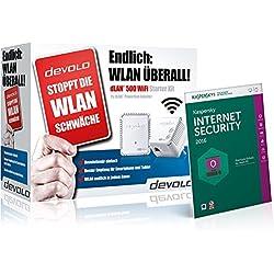 Devolo dLAN 500 WiFi Starter Kit + Kaspersky Internet Security