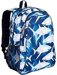 Preisvergleich für Wildkin Children's Backpack with Side Pocket - Sharks Kinder-Rucksack, 41 cm, 3 liters, Blau (Blue)