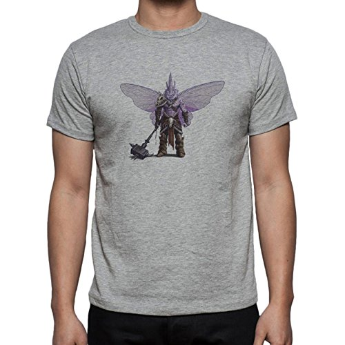 Pokemon Venonant Bug Poison man Herren T-Shirt Grau