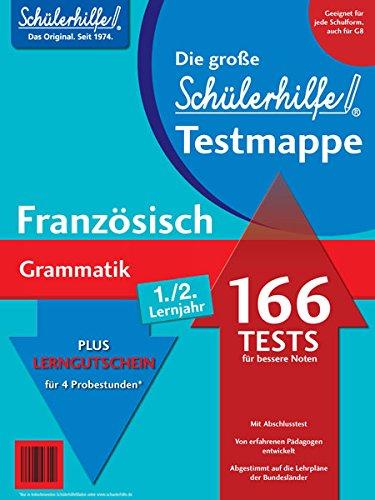 Testmappe Französisch Grammatik (Lernjahr 1.-2.)