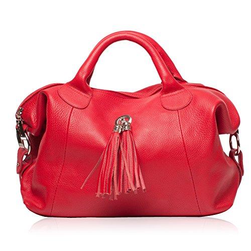 07cc9c327d OH MY BAG Sac à Main CUIR grainé femme - Sac à main porté main et
