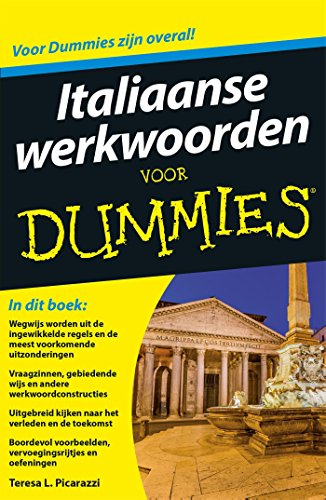 Italiaanse werkwoorden voor Dummies (Dutch Edition) por Teresa L. Picarazzi