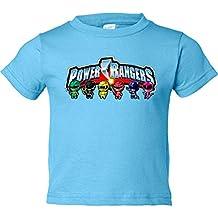 Camiseta niño Power Rangers logo