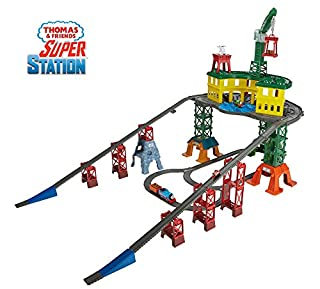 Thomas & Friends FGR22 Super Station, Thomas the Tank Engine Toy Train Set and Railway Track, Mini Wooden Adventures, 3 Year Old (B01N32QLG0) | Amazon price tracker / tracking, Amazon price history charts, Amazon price watches, Amazon price drop alerts
