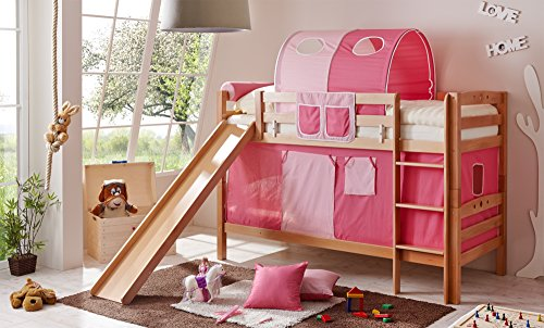 Etagenbett Mit Rutsche Für Zwei : Genial doppel hochbett mit rutsche schones kinderzimmer