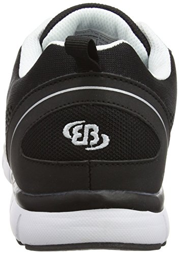 Brütting 591183, Baskets Basses mixte adulte Noir (Schwarz/Weiss)