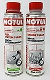 MOTUL DUO Aditivos Professional - Fuel system Clean + Engine Clean