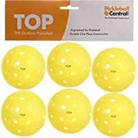 TOP ball (The Outdoor Pickleball) -6 count yellow by PickleballCentral