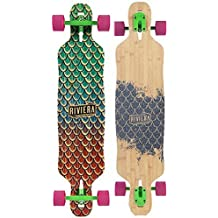 Riviera Drop-thru Sea Snake Complete Downhill Longboard Skateboard by Riviera