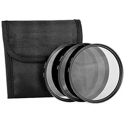 MP power @ Nuevo ND ND2 ND4 ND8 67mm Kit set de lentes de densidad neutral de 3 piezas para Nikon D750 D5500 D7200 D7100 D3200 Panasonic Lumix GF3 GF2 G3 Leica X1 X2 Oylmpus Pentax Sony Alpha A7 A7r A7s A7R II Zeiss Sigma Tokina Tamron Canon EOS 100D 700D 6D 7D 7D Mark II 1DX 5Ds 5Ds R 760D EF 70-200mm f/4L USM EF 24-85mm f/3.5-4.5 USM EF-S 17-85mm 4-5.6 IS USM 24-85mm f/2.8D IF AF Zoom-Nikkor 70-300mm f/4.5-5.6G ED-IF AF-S 18-70mm f/3.5-4.5 G ED-IF AF-S