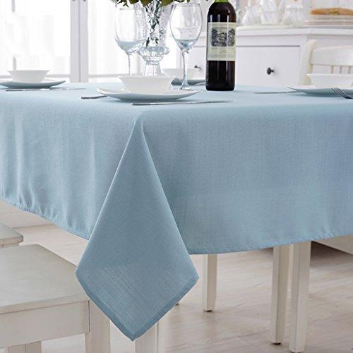 Tischdecken Hotel runden Tischtuch, glattes Baumwolltischdecken, Tischdecken, Kaffeetischtuch,...