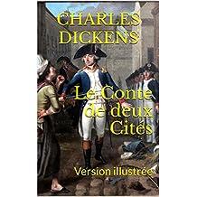 Le Conte de deux Cités: Version illustrée (French Edition)