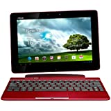 Asus Transformer Pad TF300TL 25,7 cm (10,1 Zoll) Convertible Tablet-PC (NVIDIA Tegra 3, 1,2GHz, 1GB RAM, 32GB eMMC, LTE, Touchscreen, Android 4.0) inkl. KeyDock rot