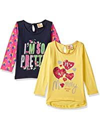 612 League Baby Girls' Regular Fit Clothing Set (Pack of 2)