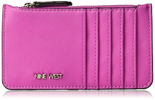 Nine West Women's Zip Card Case Zip Card Case