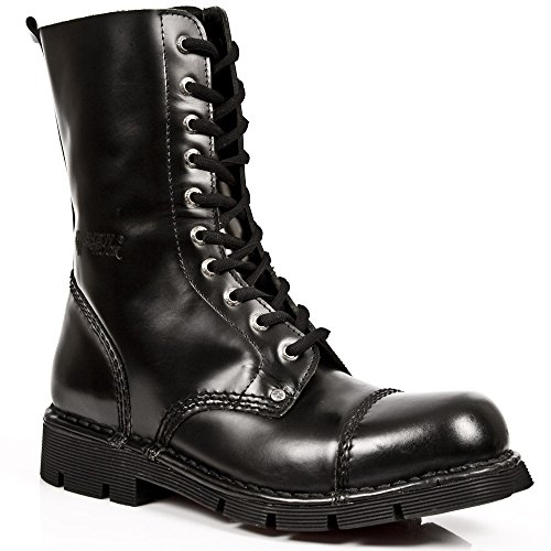 New Rock Newmili Schwarz Schuhe M.NEWMILI10-S1 Black