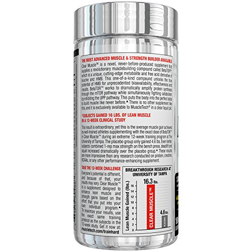 MuscleTech Clear Muscle Capsules – Pack of 168