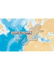 Navionics MicroSD - Carta náutica, zona 46XG Centro y Oeste de Europa